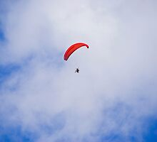 Powered Paraglider by RatManDude