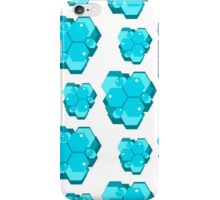 geometric seamless pattern with hexagons-4 iPhone Case/Skin