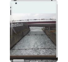 barbed wire water  iPad Case/Skin