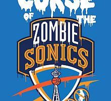 The Curse of Zombie Sonics!! by elpaulli