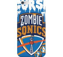 The Curse of Zombie Sonics!! iPhone Case/Skin