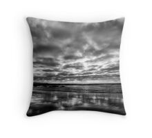 ...a silver lining Throw Pillow