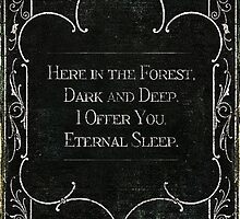 Eternal sleep by Dreamily