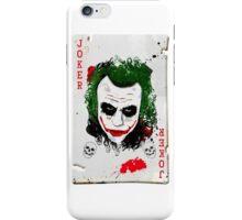 The Joker Card iPhone Case/Skin