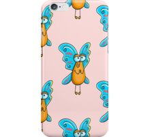 seamless pattern with appealing  fly iPhone Case/Skin