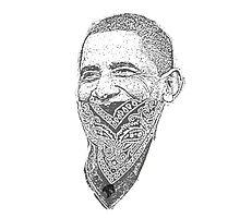 gangster barack obama Photographic Print