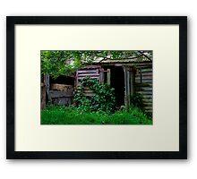 """""""Long Forgotten"""" Framed Print"""