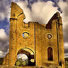 Remains of Ferranti Engine House ... Lithgow Blast Furnace by Rosalie Dale