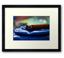 Cigar Framed Print