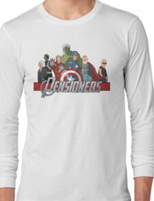 The Pensioners Assemble! Long Sleeve T-Shirt