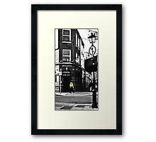 Beat on the Street Framed Print