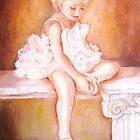 LITTLE BALLERINA-BALLET DANCER by Carole  Spandau