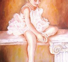 LITTLE BALLERINA-BALLET DANCER by Carole  Spandau