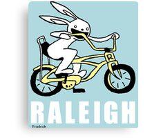 Raleigh Rabbit Bike Canvas Print