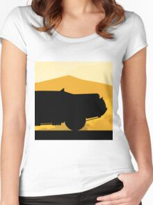 The Mad Interceptor  Women's Fitted Scoop T-Shirt