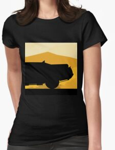 The Mad Interceptor  Womens Fitted T-Shirt