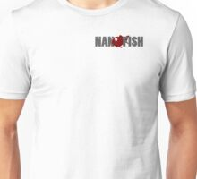 Nanofish Logo and Text Unisex T-Shirt