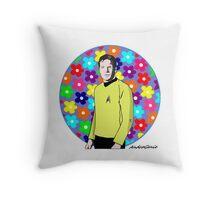 Captain Kirk Throw Pillow