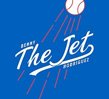 Benny THE JET Rodriguez. Sandlot Design by Justin Miller