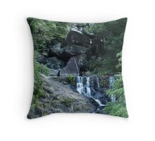The Cradle Throw Pillow