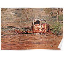 Arkaroola Truck Poster