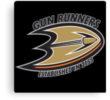 Boneyard Gun Runners Canvas Print