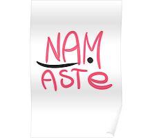 Namaste  scribbles Poster