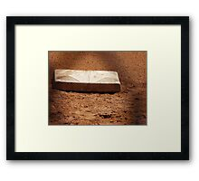 3rd Base Framed Print