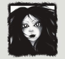 Goth Girl Tee by dimarie