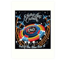 E.L.O. Out of The BLUE TOUR Art Print