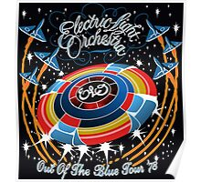 E.L.O. Out of The BLUE TOUR Poster