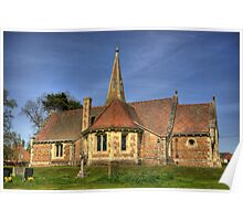 St Stephens Church - Aldwark near York Poster