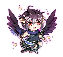 Chibi Dark Pit by Evil-Watermelon