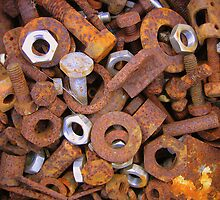 Rusty bits and pieces. by fotopro