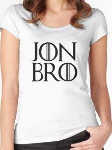 Jon Bro Women's Fitted Scoop T-Shirt