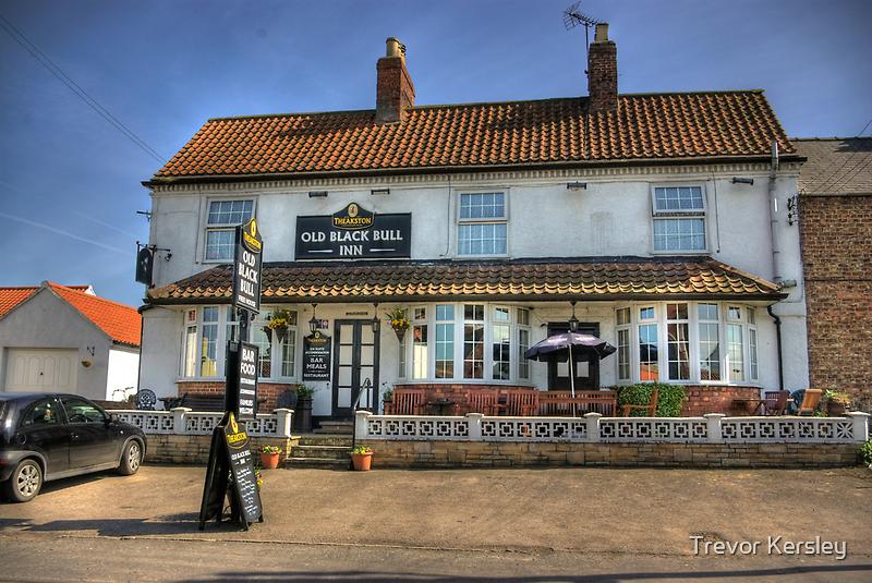 Old Black Bull Inn - Raskelf near York by Trevor Kersley