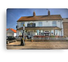 Old Black Bull Inn - Raskelf near York Metal Print
