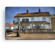 Old Black Bull Inn - Raskelf near York Canvas Print