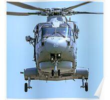 AgustaWestland Merlin HM.1 ZH850/80 Poster