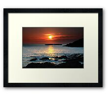 Puppy Dog Cove Framed Print
