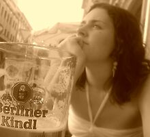 Katie in Berlin by woodgreenforest