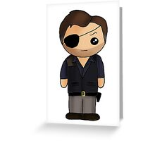 The Governor  Greeting Card