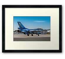 Spitfire on his tail Framed Print