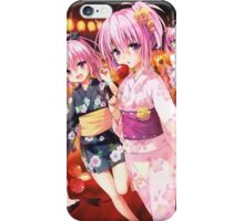 Momo and Nana iPhone Case/Skin