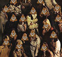 Emoji Crowd by mrsaraneae
