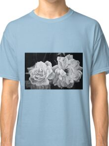 Roses in Black and White Classic T-Shirt