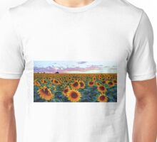 Sunflower Sunset Unisex T-Shirt