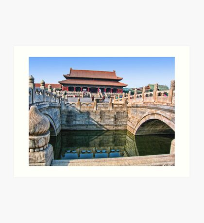 Forbidden City. Beijing, China Art Print