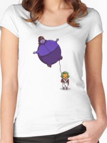 Too Much Bubblegum Women's Fitted Scoop T-Shirt