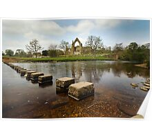 Bolton Abbey, Wharfedale Poster